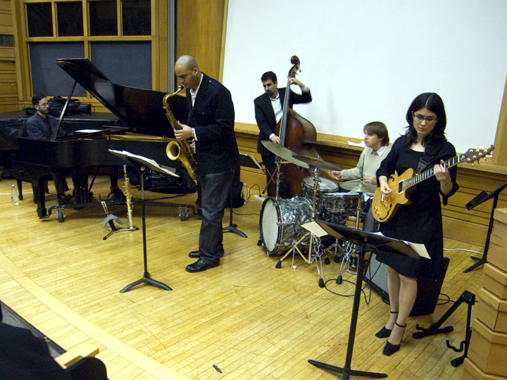 Amanda Monaco and Playdate (Wayne Escoffery, Noah Baerman, Henry Lugo, Vinnie Sperrazza) - City College 2008