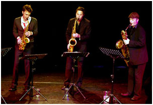Paul Towndrow, Konrad Wisniewski, Allon Beauvoisin 29334 Images of Jazz