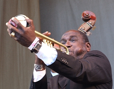 2006 Chicago Jazz Festival, Friday: Gregory Stafford with Dr. Michael White's Original Liberty Jazz Band