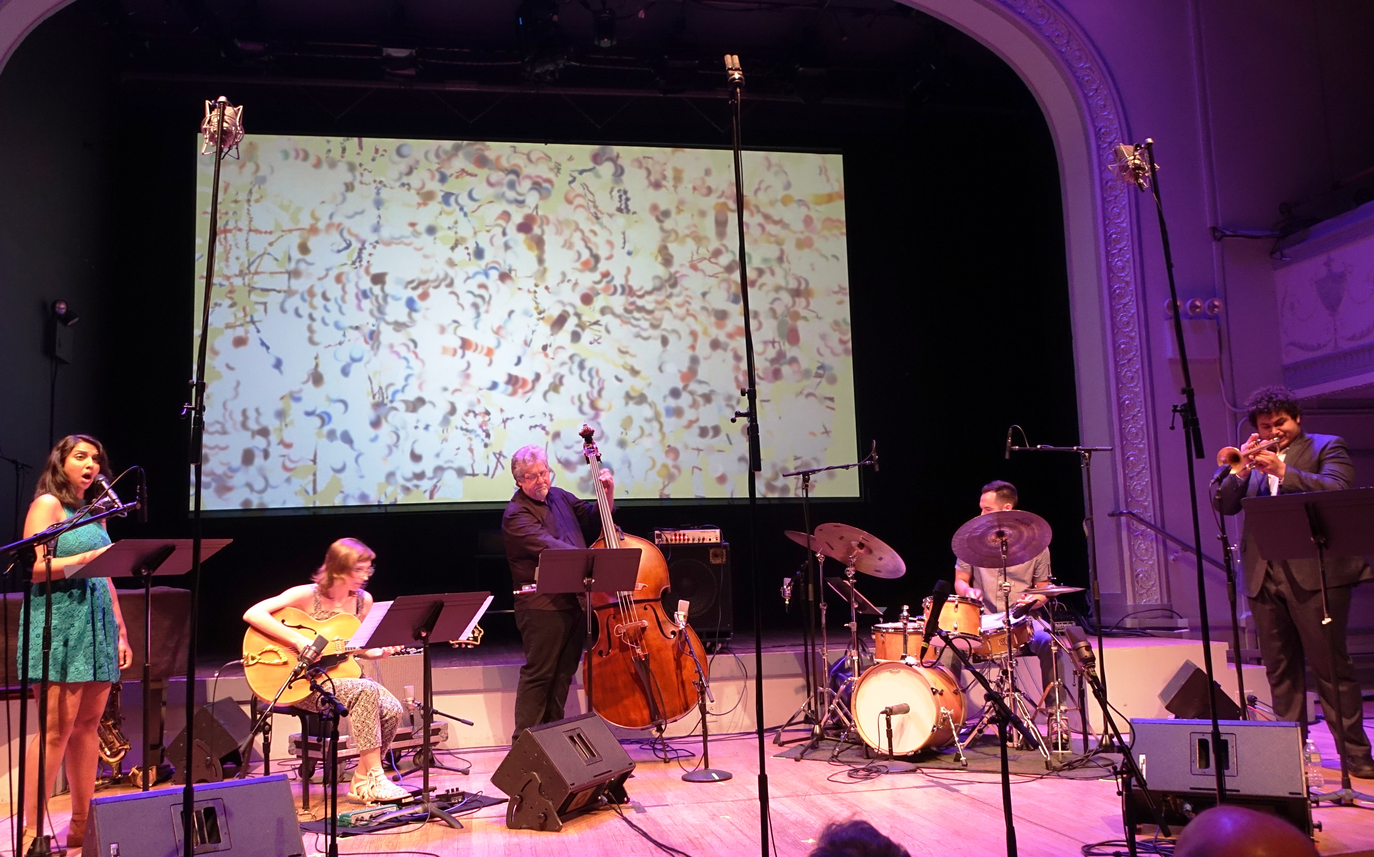 Mary Halvorson's Code Girl at Roulette, Brooklyn in May 2018