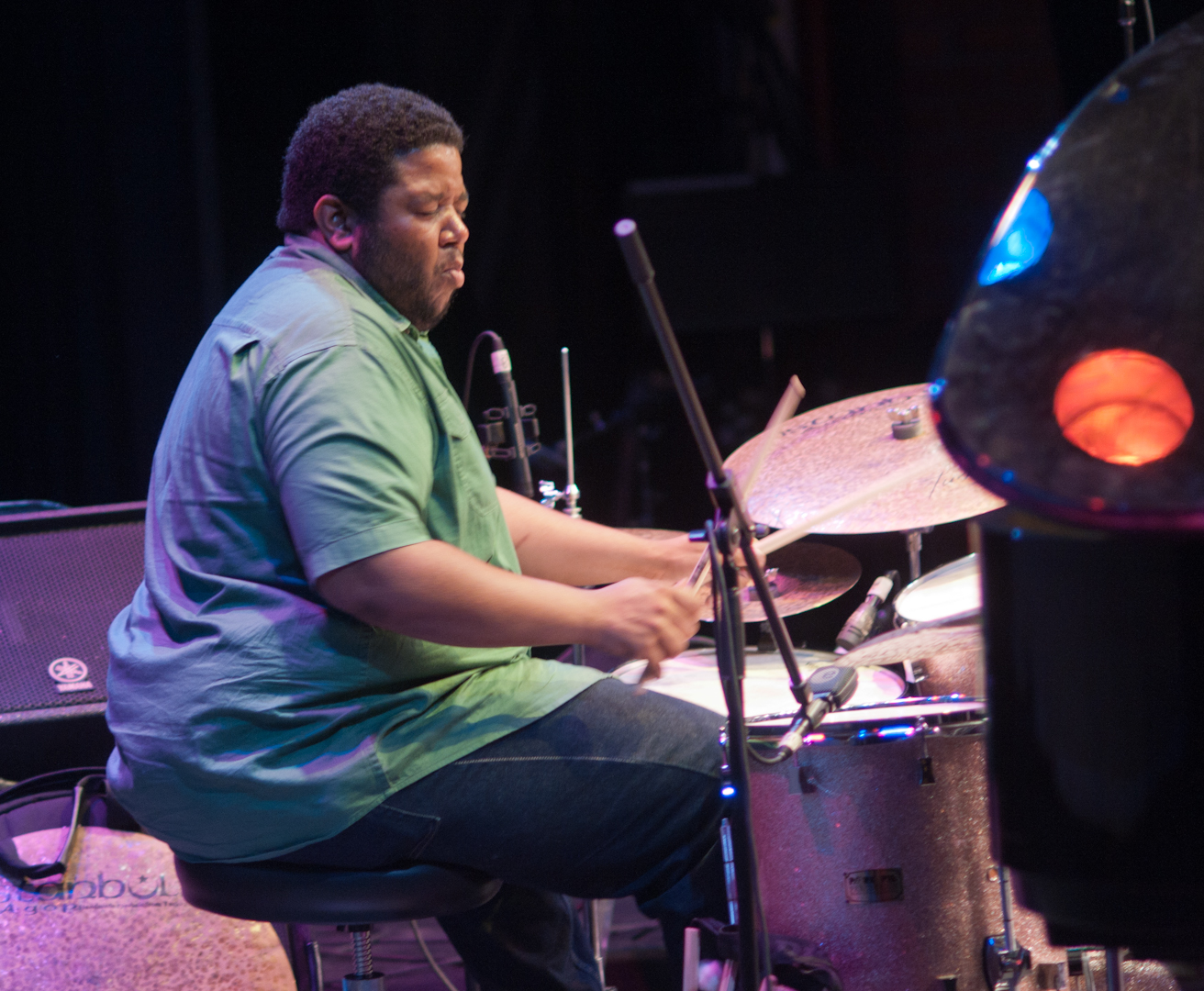 Tyshawn Sorey with Paradoxical Frog at the Vision Festival 2011