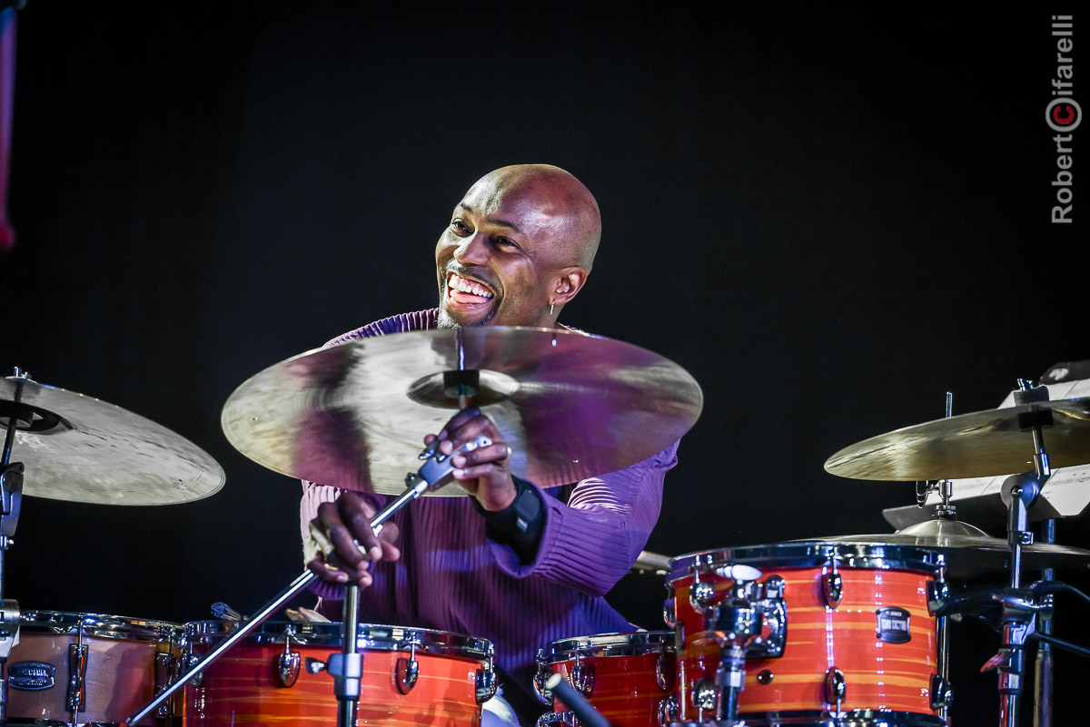 Clarence Penn - 60th Monterey Jazz Festival, 2017