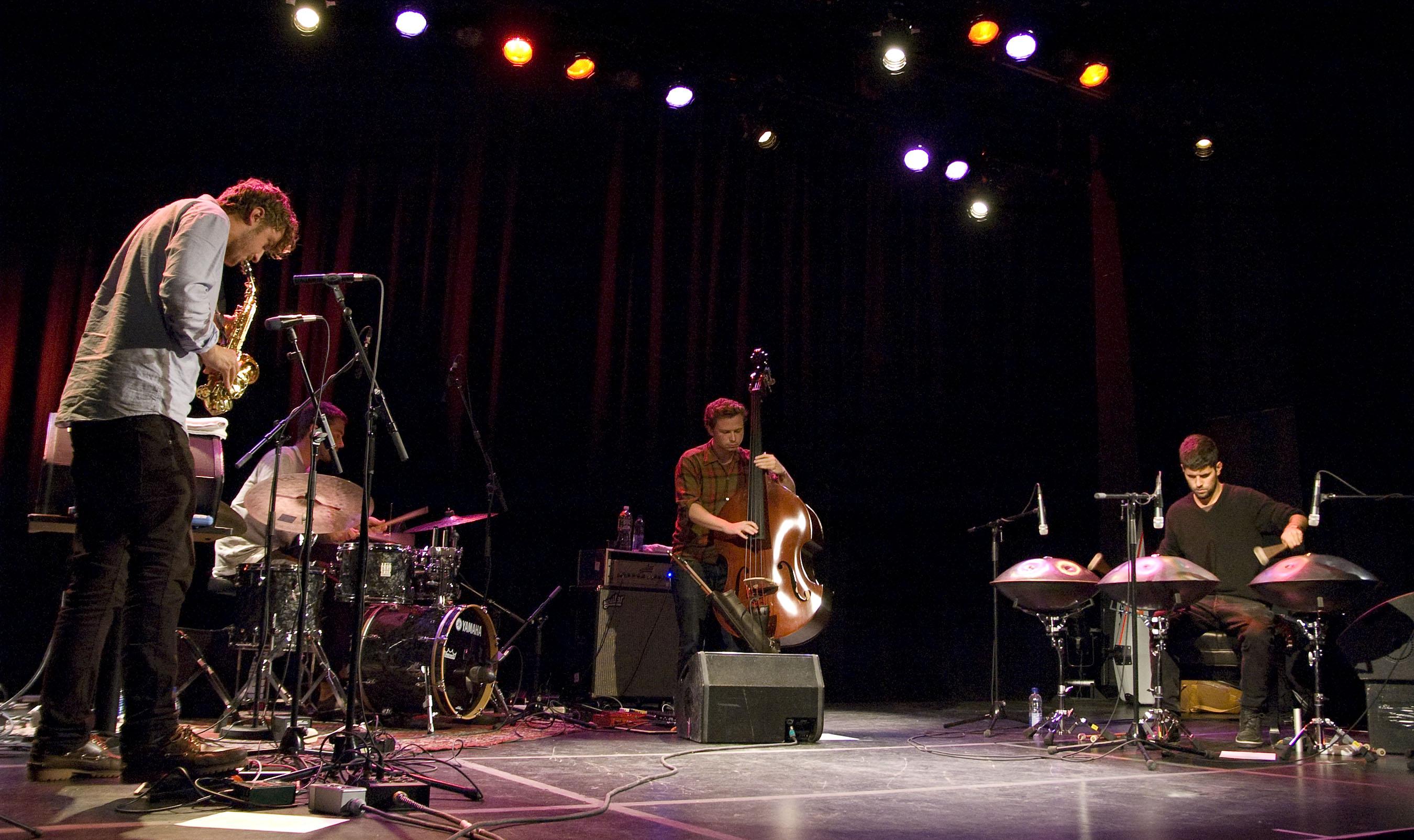 Portico Quartet, L'Astral, Montreal, Canada 10/02/2010