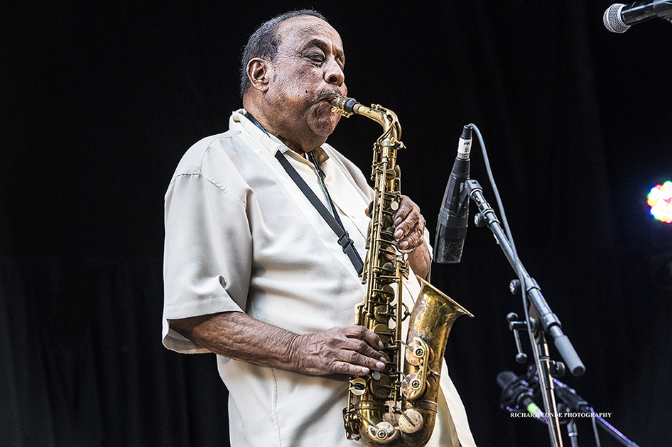 Lou Donaldson at the 2017 Charlie Parker Jazz Festival