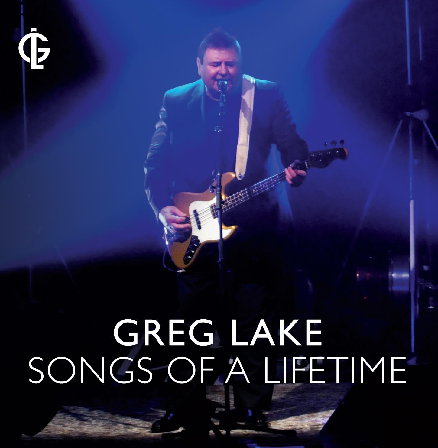 Greg Lake Songs of a Lifetime Cover