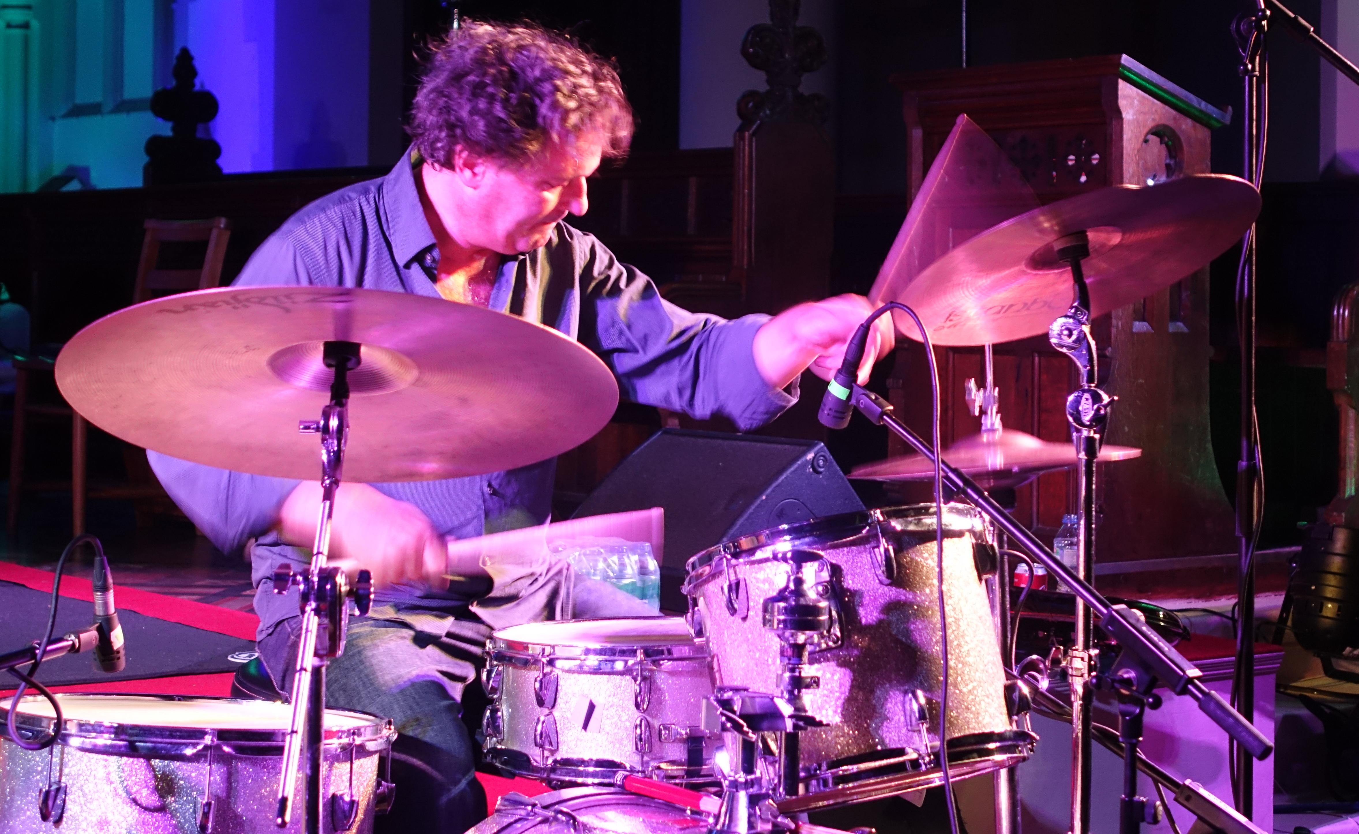 Michael Wertmüller at Brighton Alternative Jazz Festival in October 2018