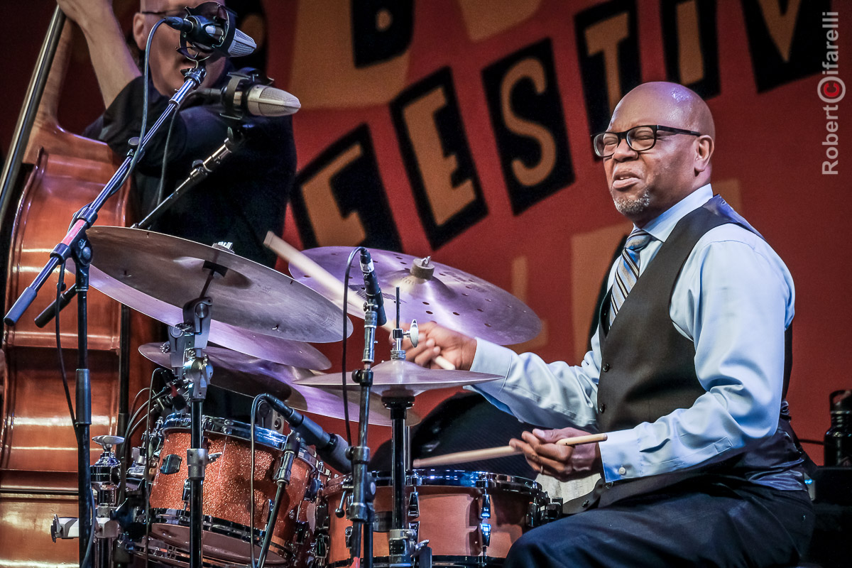 Lewis Nash - 60th Monterey Jazz Festival, 2017