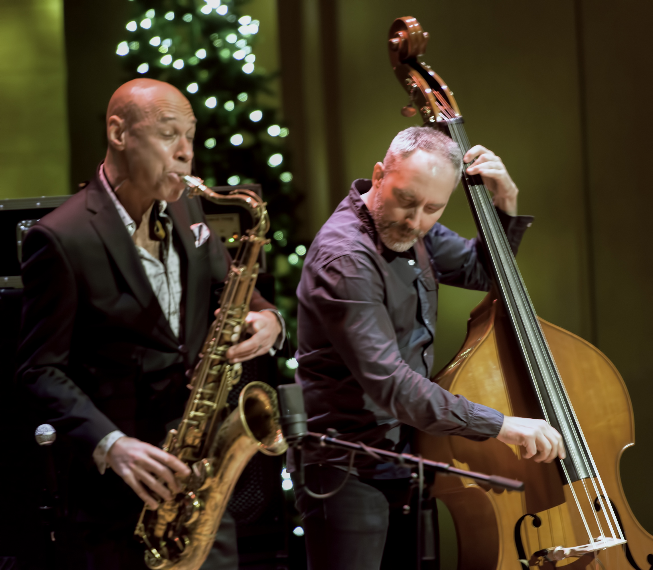 Joshua Redman And Reid Anderson With The Bad Plus At The Musical Instrument Museum (mim) Phoenix