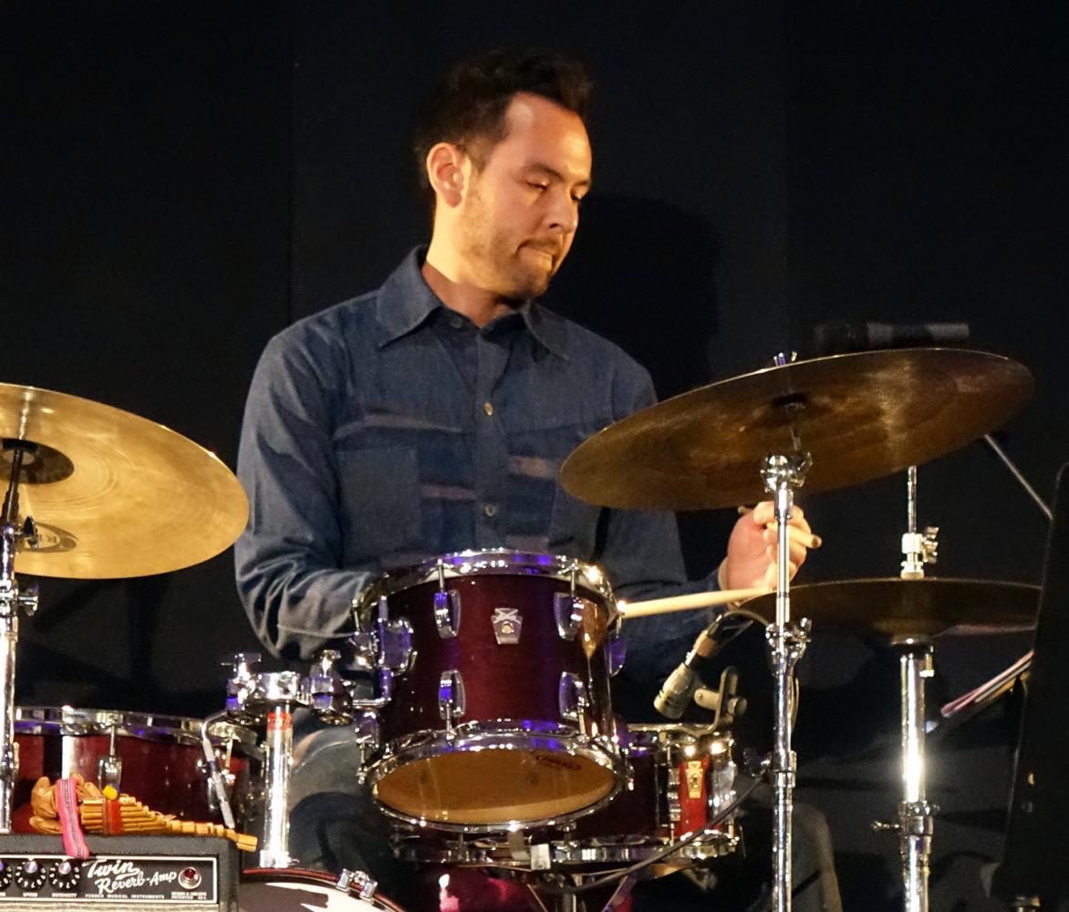 Tomas Fujiwara at Vision 22