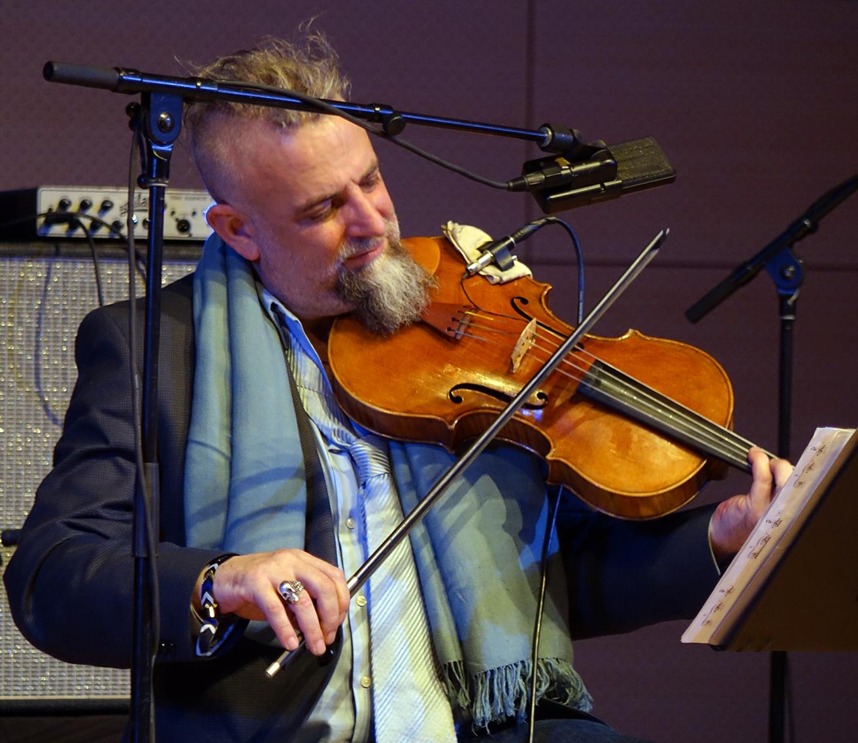 Mat Maneri at NYC Winter JazzFest 2016