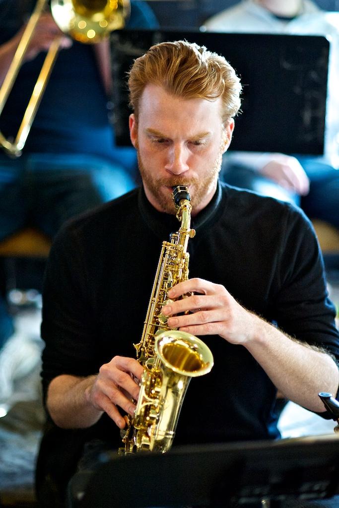 Chris Roberts with the Toronto Jazz Orchestra, the Rex, Toronto