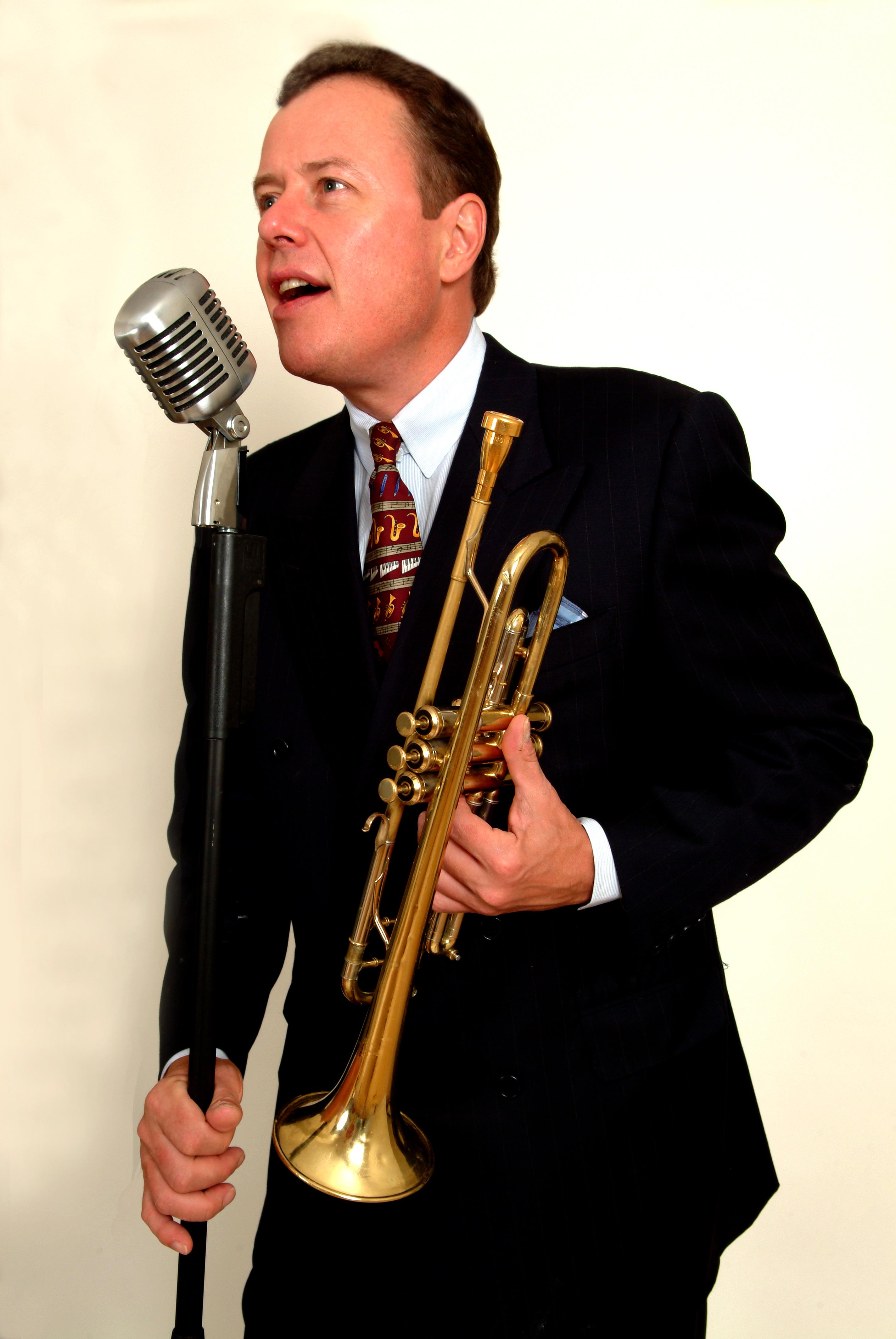 Trumpeter & vocalist Bob Merrill