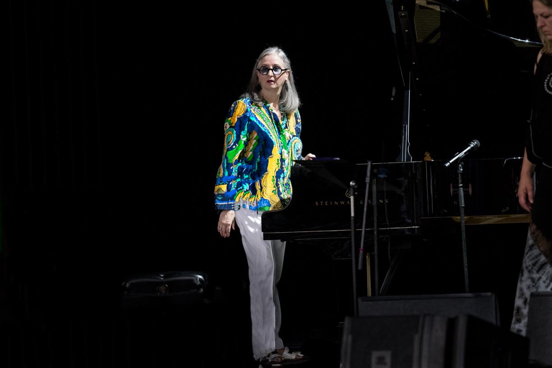Renee Rosnes at the 2021 Freihofer's Saratoga Jazz Festival