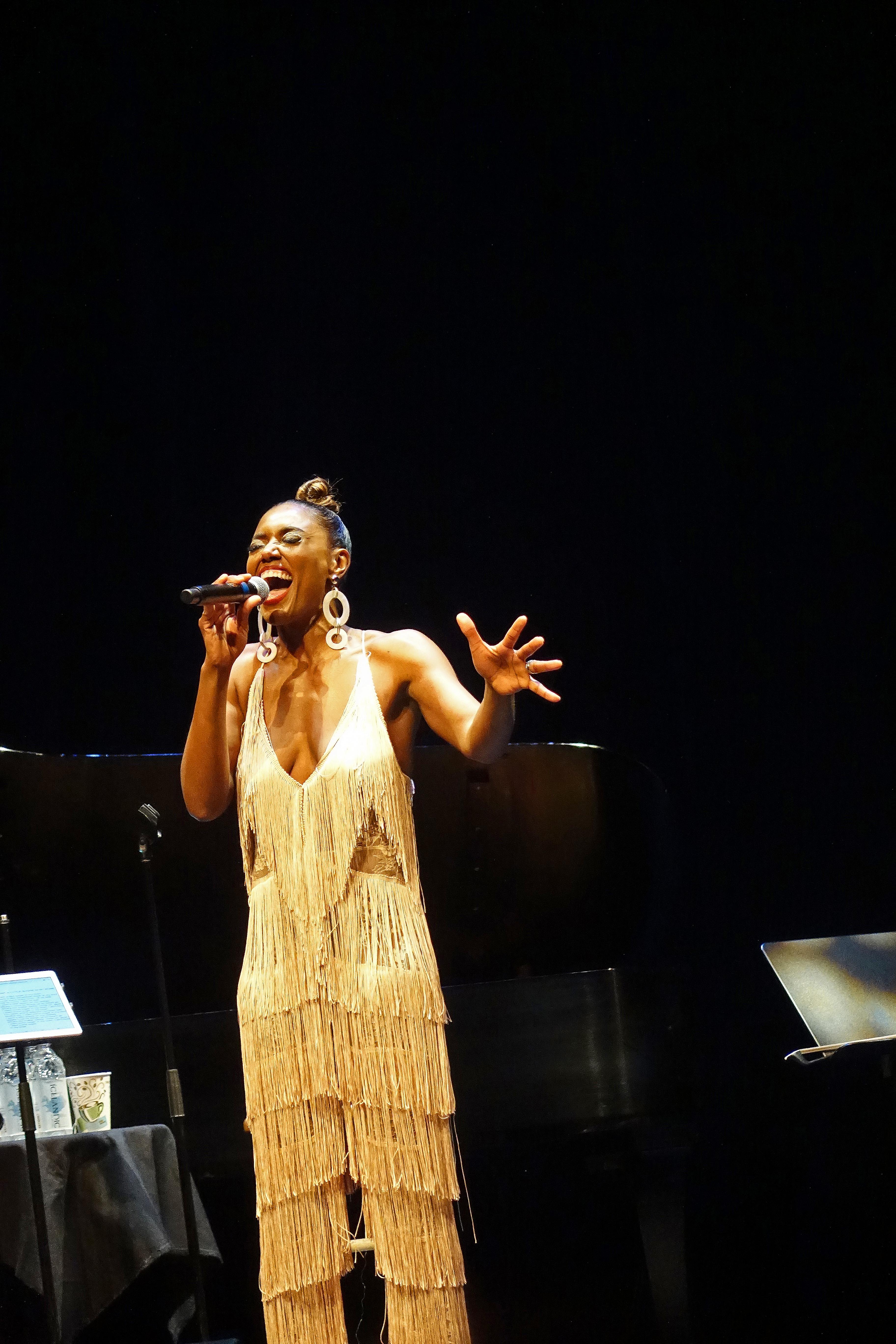 Patina Miller Sings Nina Simone