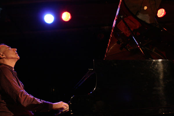 """Marc Copland with the """"Marc Copland Trio"""" at the Sud Des Alpes, Amr, Geneva, Switzerland, 2005"""
