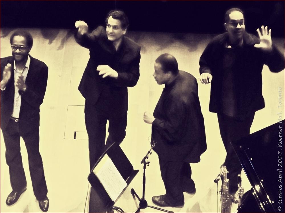 Wayne Shorter Quartet in Koerner Hall, April 1017