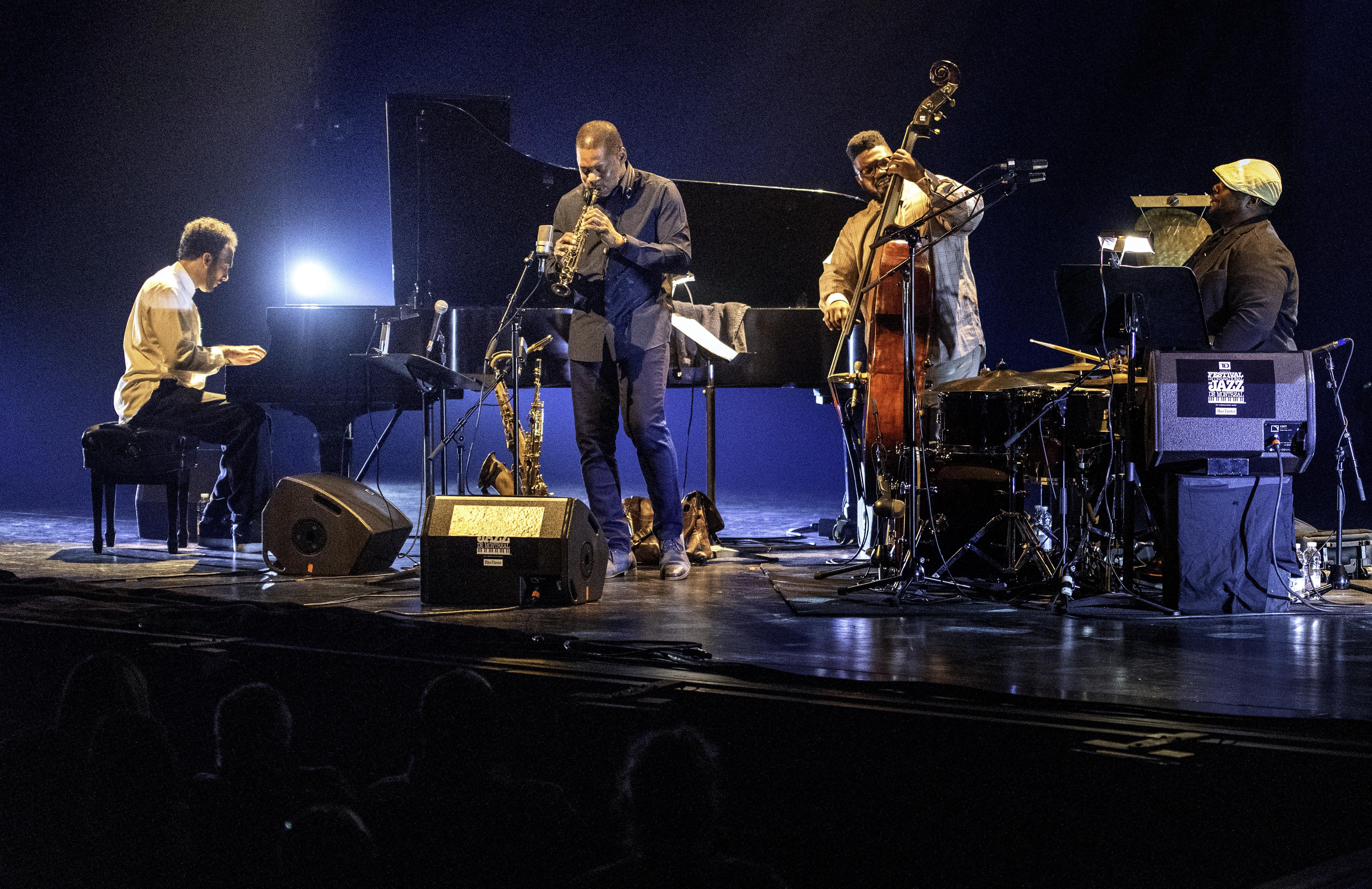 David Virelles, Ravi Coltrane, Dezron Douglas and Johnathan Blake At The Montreal International Jazz Festival 2019