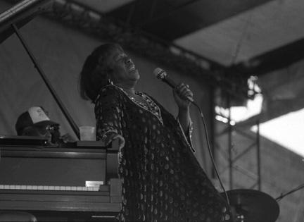 Sarah Vaughan at Newport