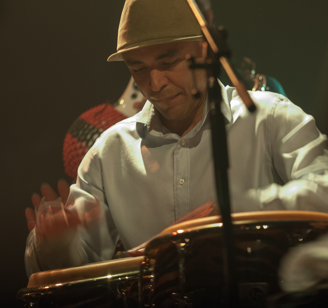 Mauricio Hererra with Ninety Miles at the Montreal International Jazz Festival 2012