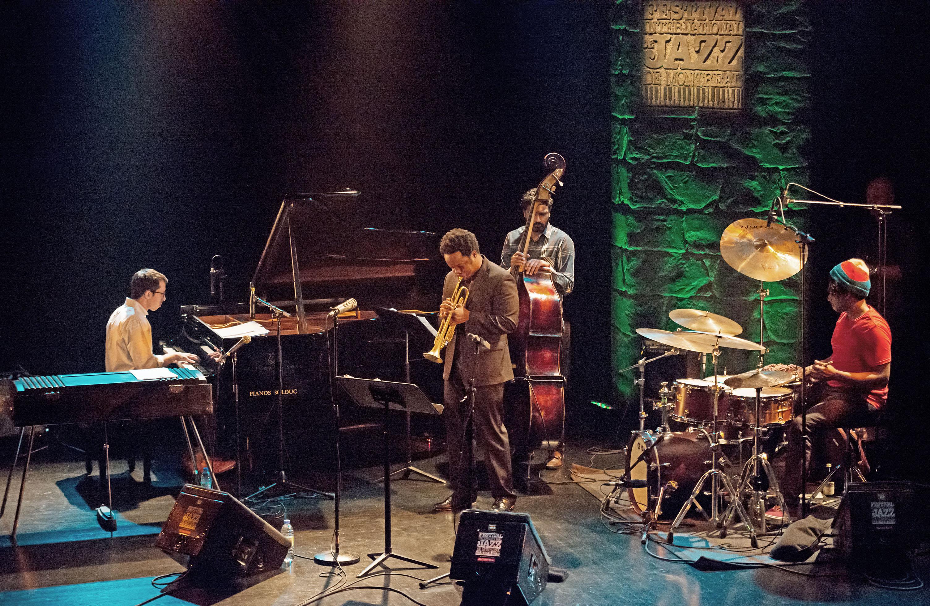 Ambrose Akinmusire Quintet at 2014 Festival International de Jazz de Montréal