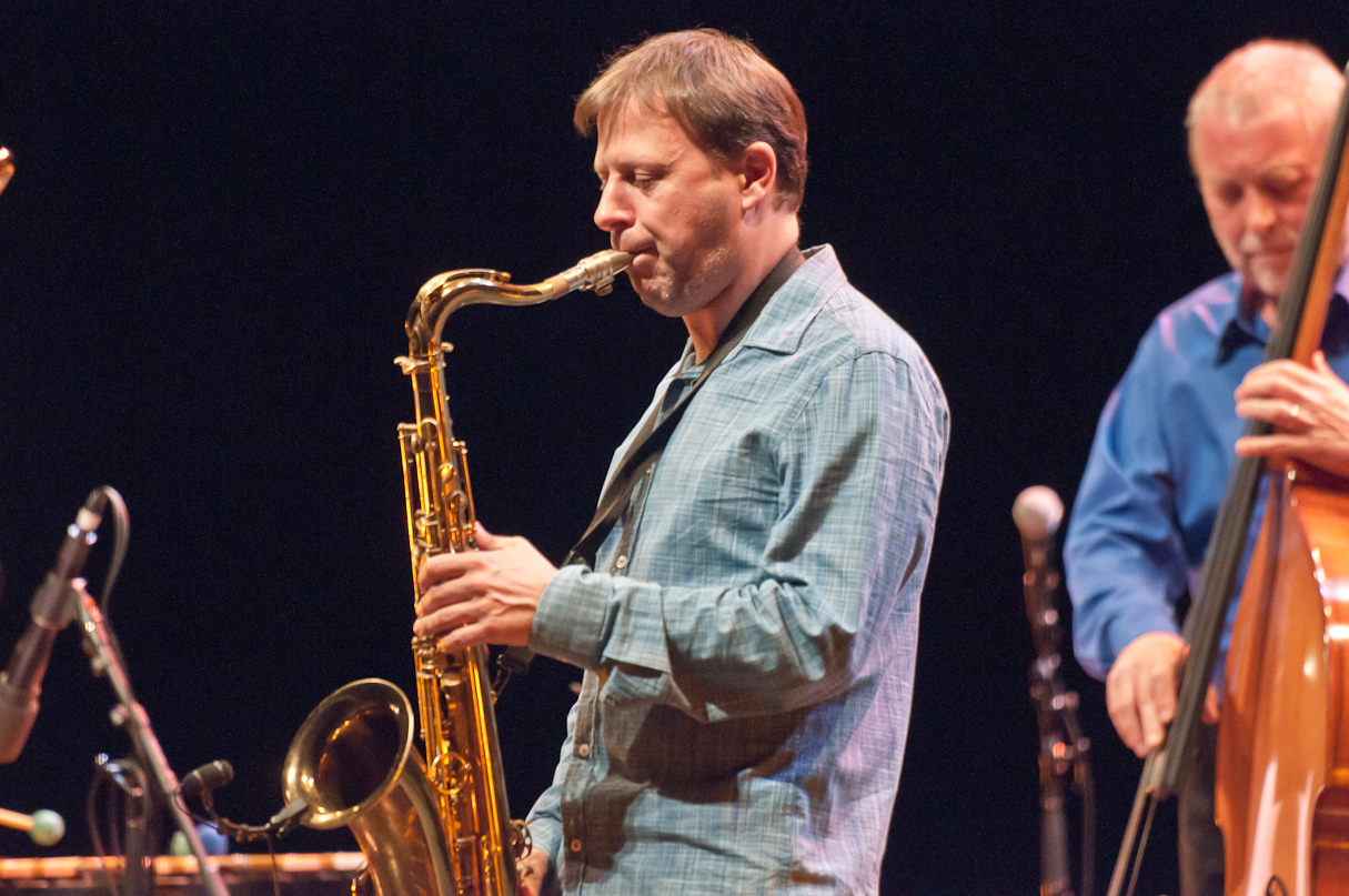 Chris Potter with the Dave Holland Quintet at the Montreal International Jazz Festival
