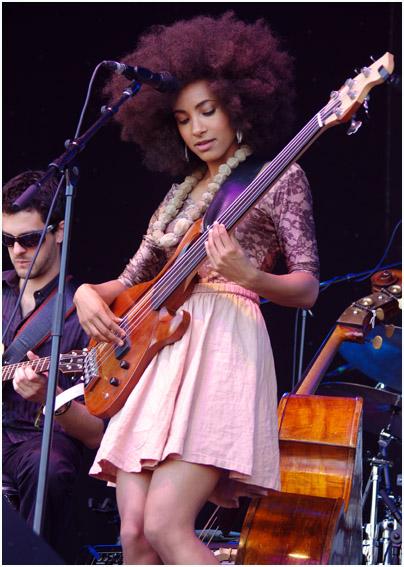 Jazz news: Watch Grammy Winner Esperanza Spalding Record Her