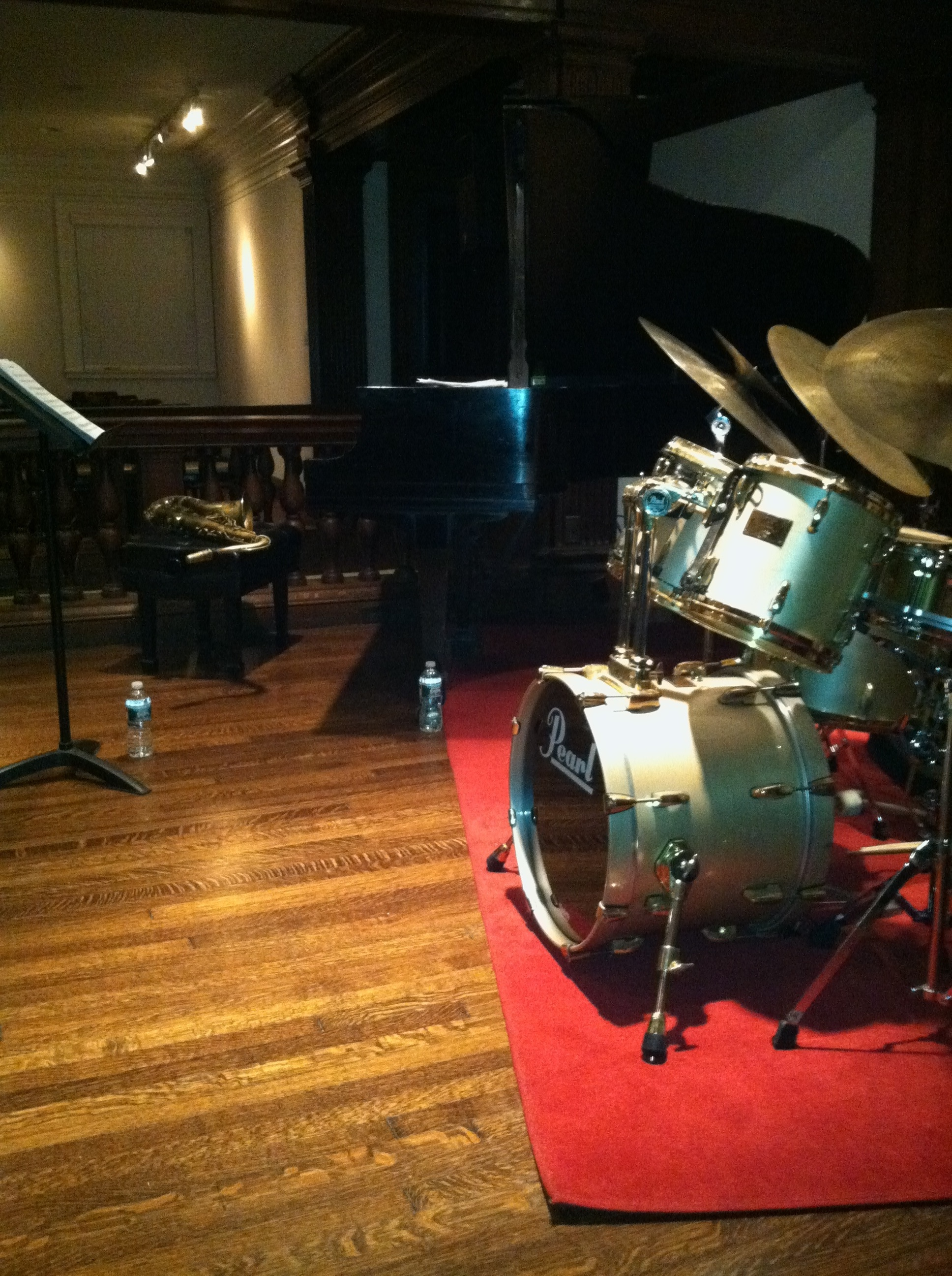 Billy Hart Quartet Setup