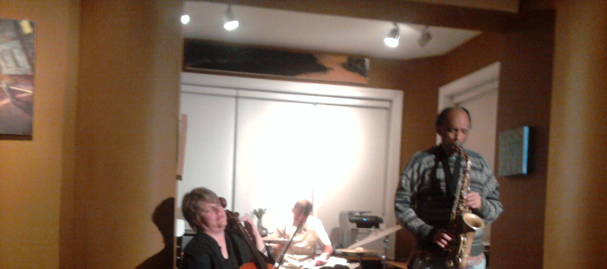 Jimmy Bennington, Daniel Carter, Cathy Kuna, Colour and Sound Series House Concert, Chicago 2010