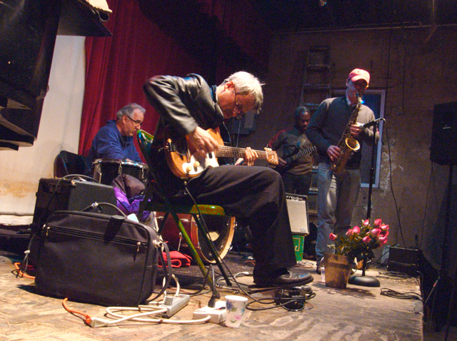 Marc Ribot, Ned Rothenberg, Jerome Harris and Jim Pugliese - Tonic 2007