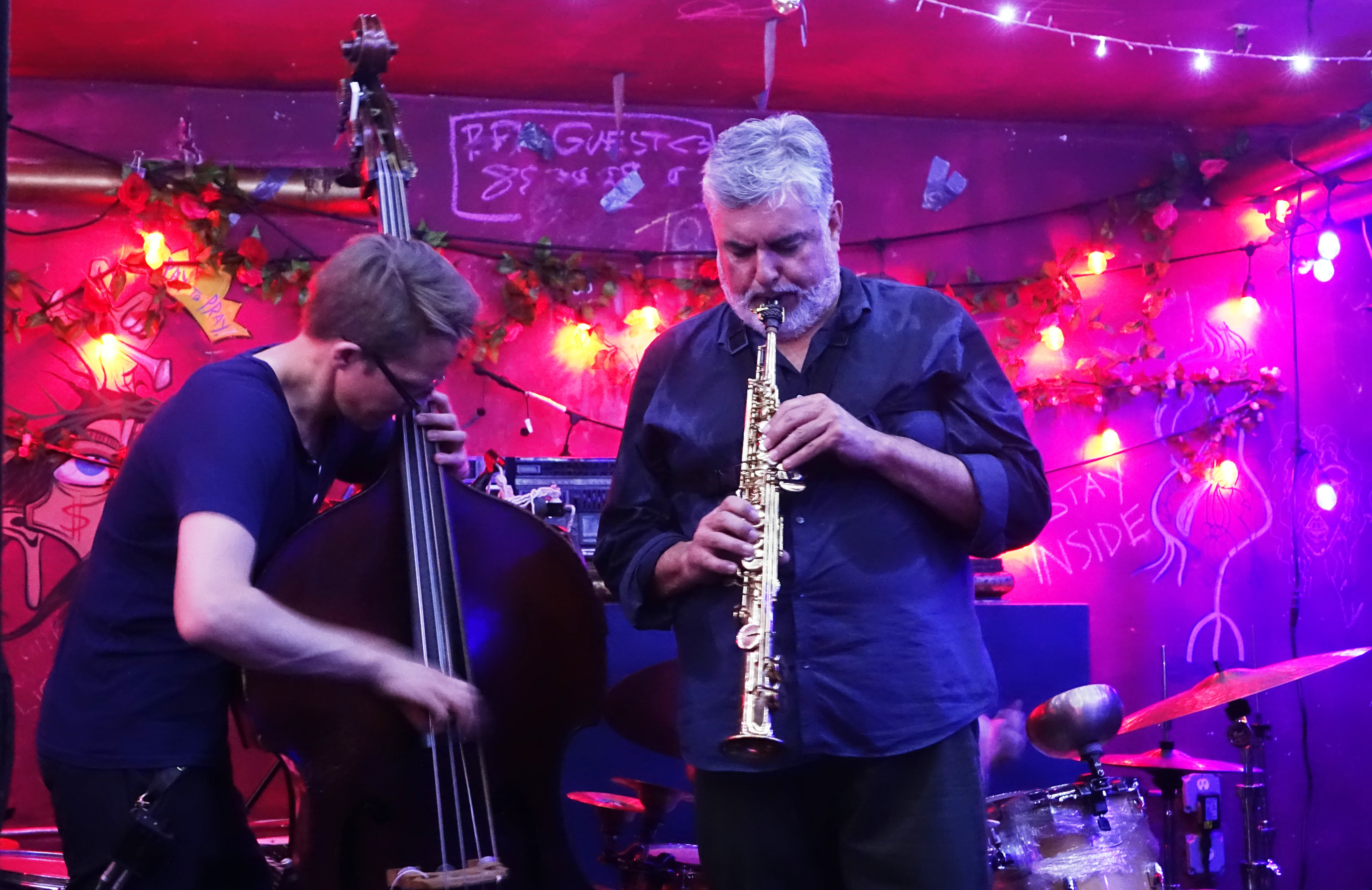 Eivind Opsvik and Tony Malaby at the Bushwick Public House, Brooklyn in June 2019