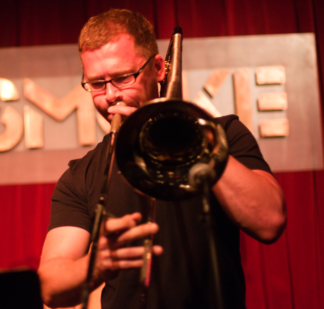David Gibson with the John Farnsworth Quintet at Smoke Jazz Club