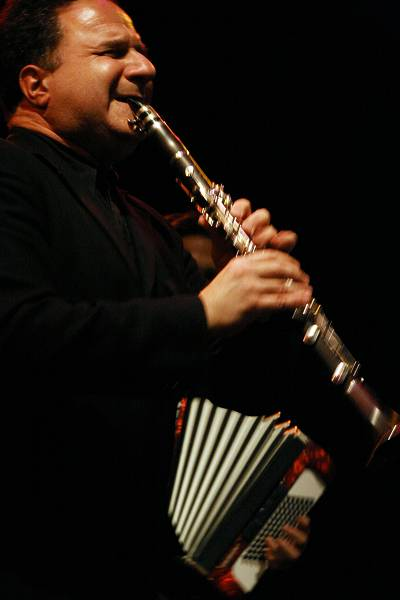 "David Krakaeur with ""David Krakauer - Klezmer Madness"" at the Cully Jazz Festival, Cully, Switzerland, April 2006"