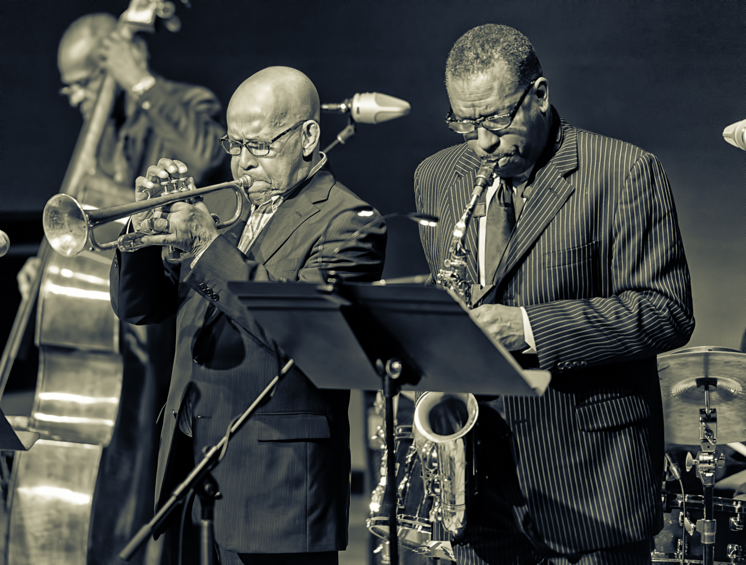 Eddie Henderson and Donald Harrison With The Cookers At The Musical Instrument Museum (MIM) In Phoenix