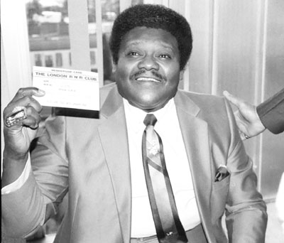 Fats Domino 0325105 Royal Festival Hall London July 1985 Images of Jazz
