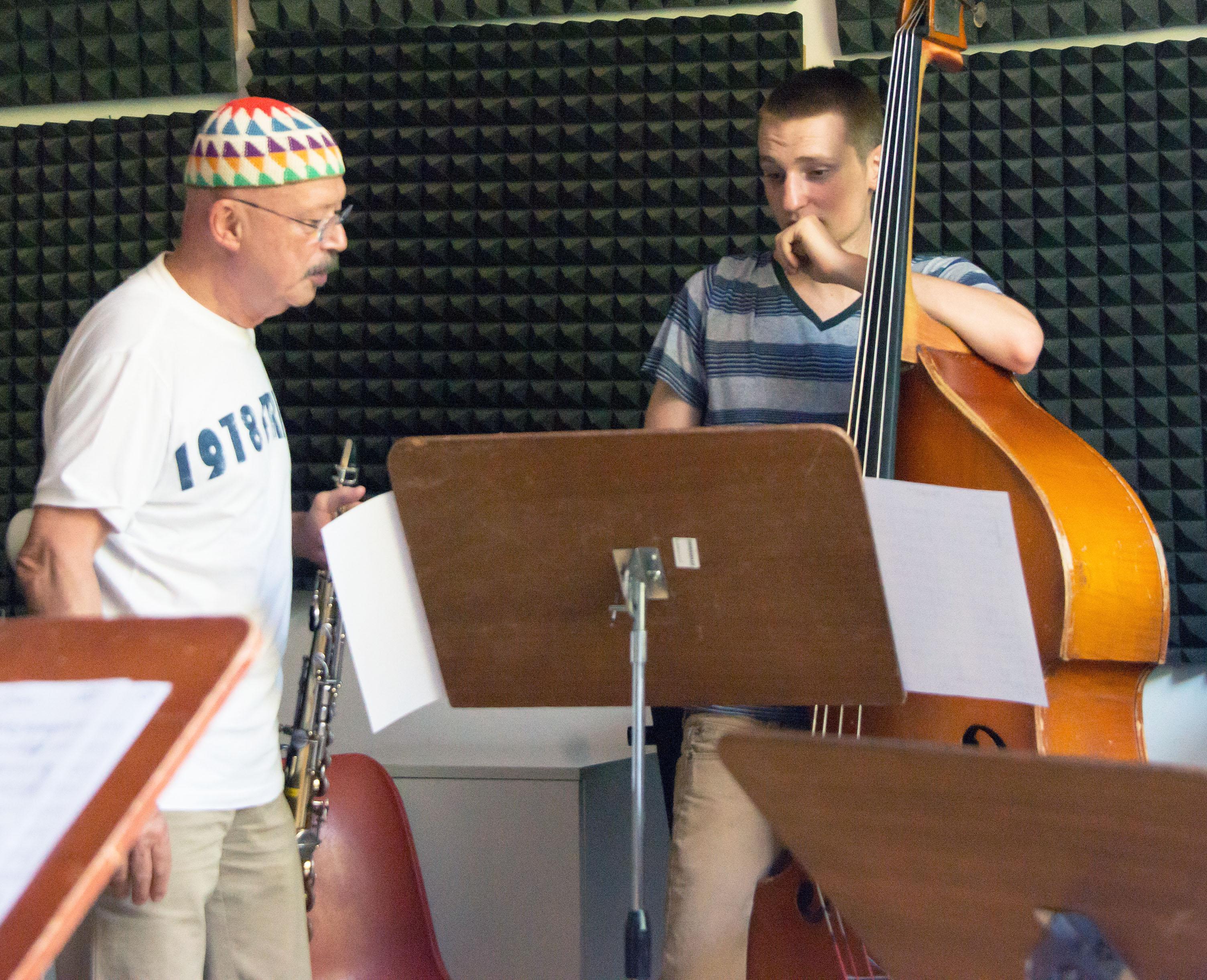 Claudio fasoli combo class, 2013 siena jazz academy summer works