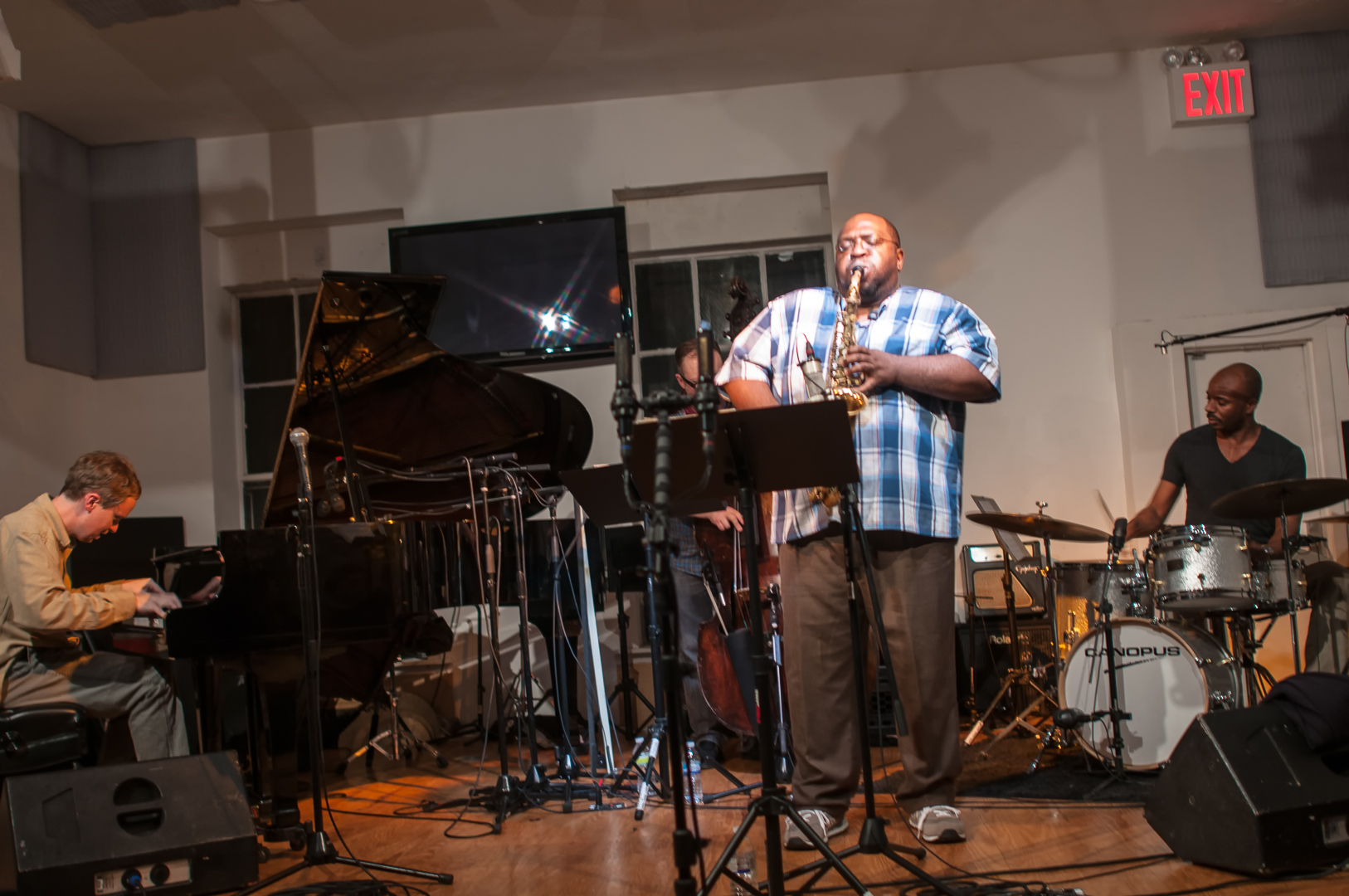 Matt Mitchell, Darius Jones And Chad Taylor At The Jazz Gallery