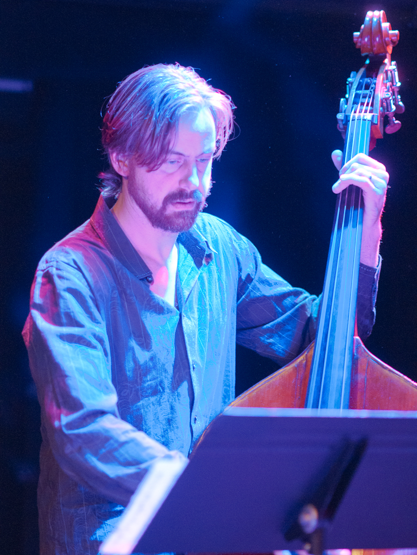 Chris Lightcap with the Jessica Lurie Ensemble at Winter Jazzfest 2012