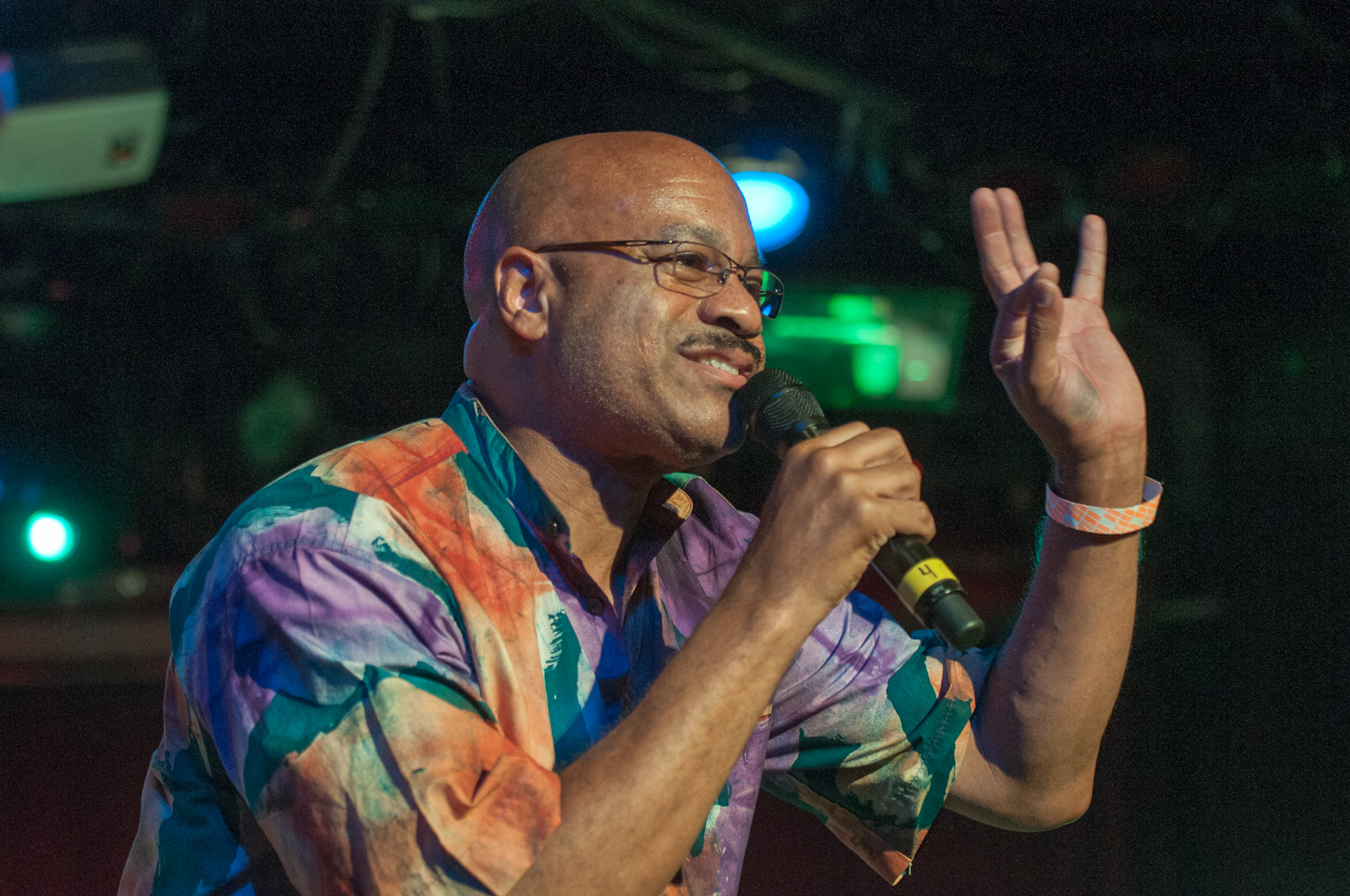 Lewis 'Flip' Barnes with Burnt Sugar the Arkestra Chamber at le Poisson Rouge