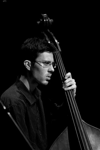 Aiden Carroll of Dan Tepfer Trio - Gdansk in Jan. 2008