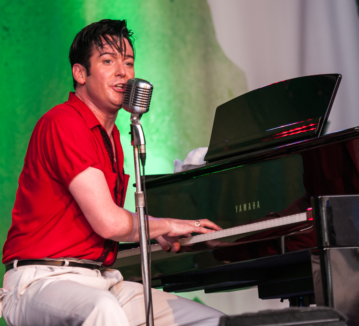 Israel Proulx at the Montreal International Jazz Festival 2012