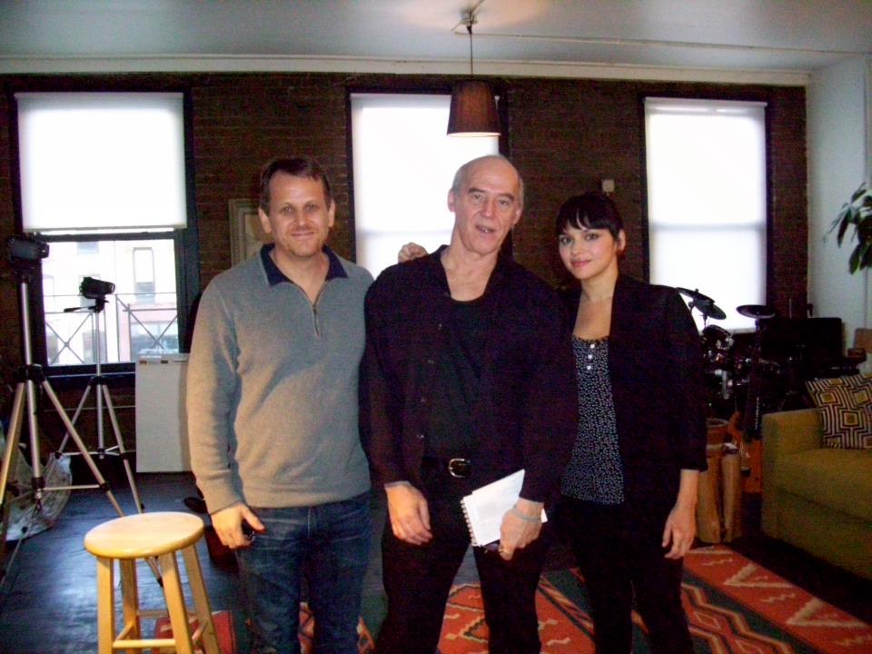 Norah Jones, Brian Camelio and Dan Ouellette