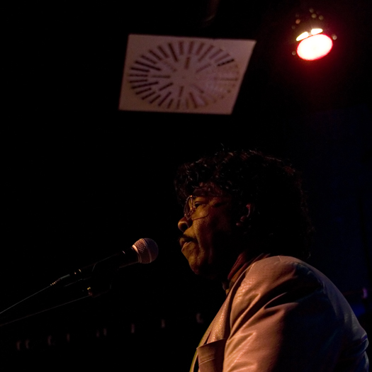 Phil Guy of Phil Guy &Amp; His Blues Band Feat. - Gdynia/Poland in Nov. 2006
