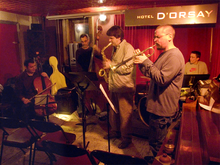 Daniel Levin's Black Bear with Jim Hobbs, Nate Wooley, Joe Morris and Croix Galipault - Barbs 2007