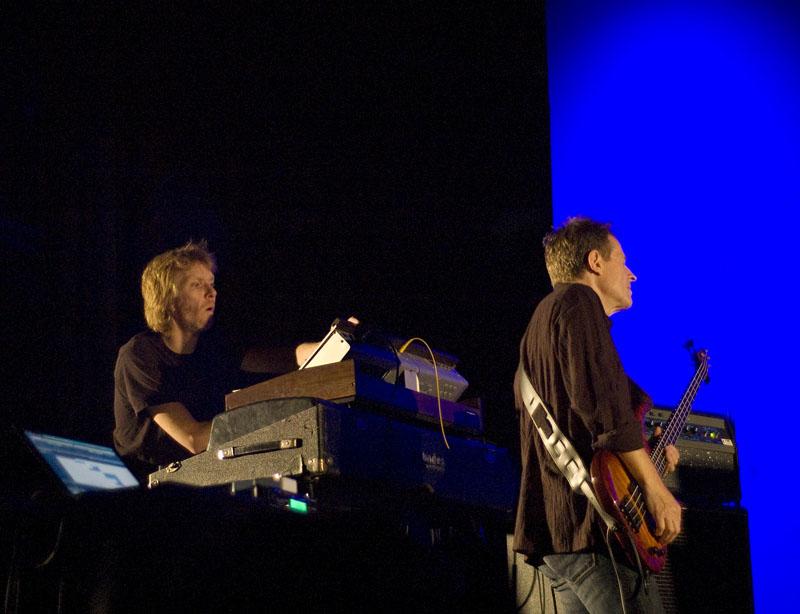 Stale Storlokken and John Paul Jones, Performing with Supersilent at Punkt 2010