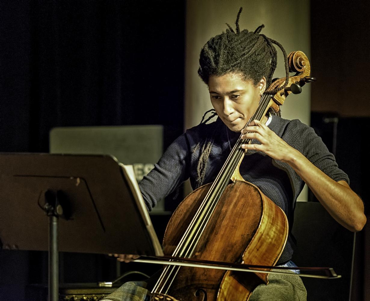 Tomeka Reid at The NYC Winter Jazzfest 2017