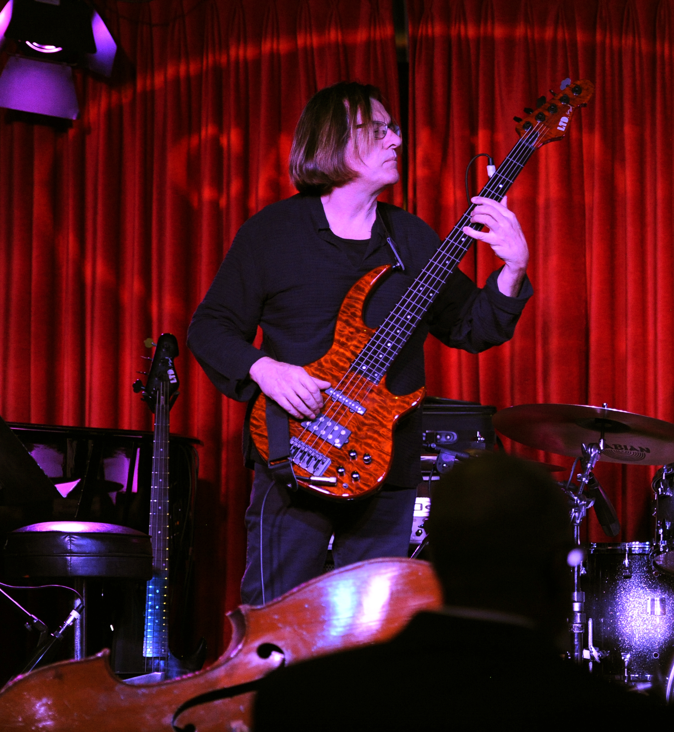 Bunny Brunel on Bass with Kaylene Peoples