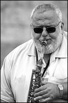 Bobby Militello<br>with Dave Brubeck<br>2004 JVC Jazz Festival in Newport R.I.