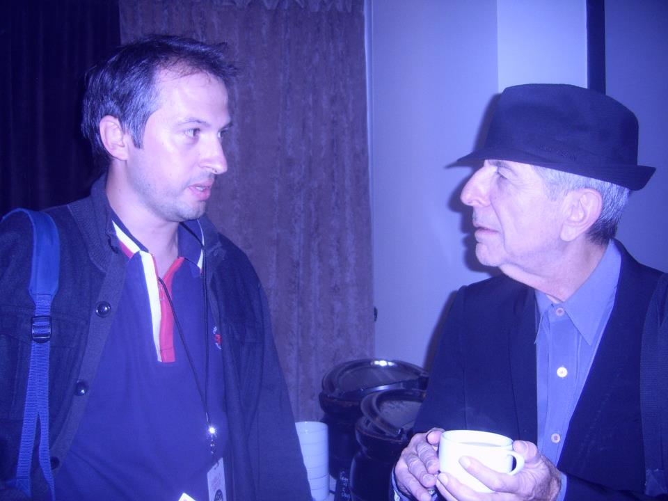 Nenad Georgievski and Leonard Cohen