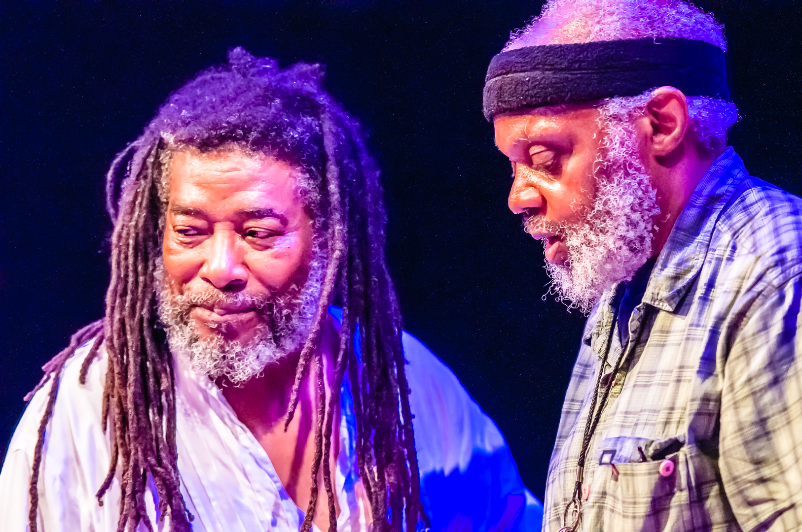 Wadada leo smith and henry grimes at the vision festival 2012