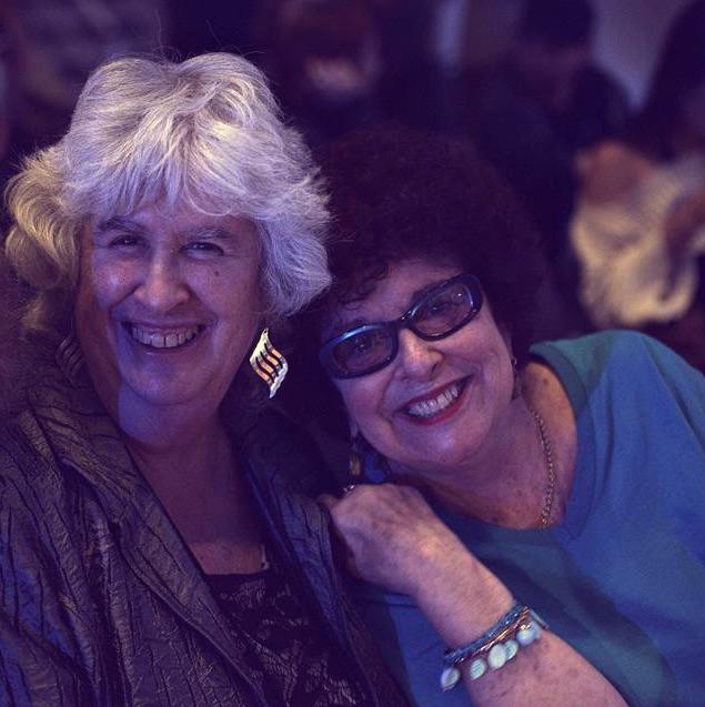 "Roberta DeNicola with Super Fan ""Jazz Judy"" Balos"
